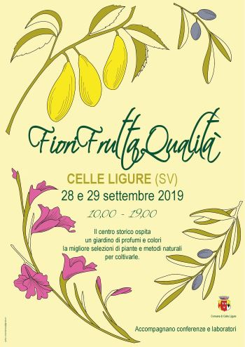 Fiori Settembre.Sabato 28 E Domenica 29 Settembre 2019 Fiori Frutta Qualita